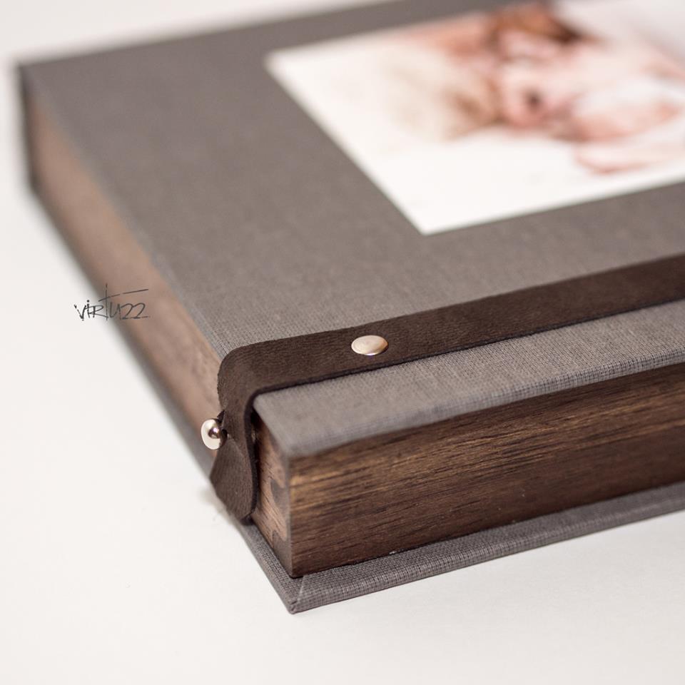 Oprawa fotografii buduarowej i aktu - pudełka